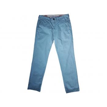 Брюки чинос мужские голубые TOMMY HILFIGER W 36