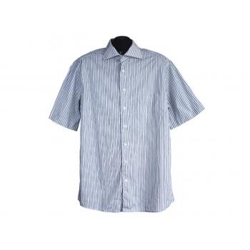 Рубашка мужская серая в полоску BIAGGINI, L