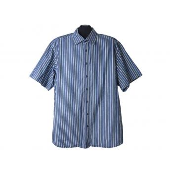 Рубашка серая в полоску мужская BEXLEYS EDITION, XL