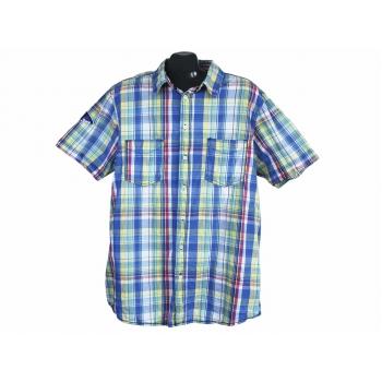 Рубашка в клетку мужская TROPICAL ISLAND RESART, XL