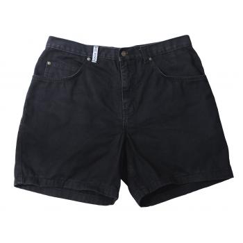 Шорты джинсовые черные мужские RED ROAD W 36