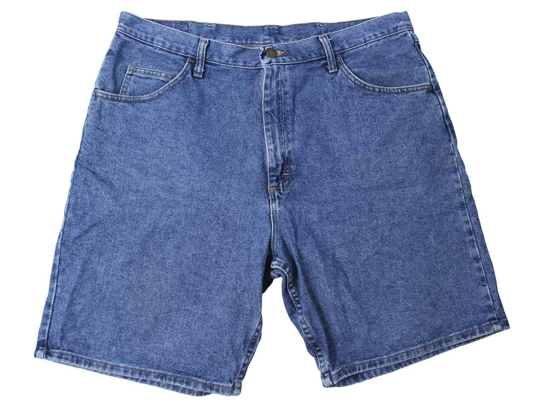 Шорты джинсовые синие мужские WRANGLER W 40