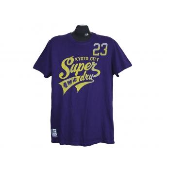 Мужская фиолетовая футболка SUPERDRY, M