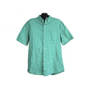 Рубашка зеленая мужская SADDLEBRED, XL