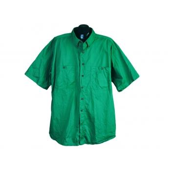 Рубашка зеленая мужская ST.JOHNS BAY, XXL
