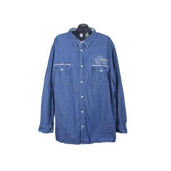 Рубашка джинсовая мужская JOHN BANER JEANSWEAR, 4XL
