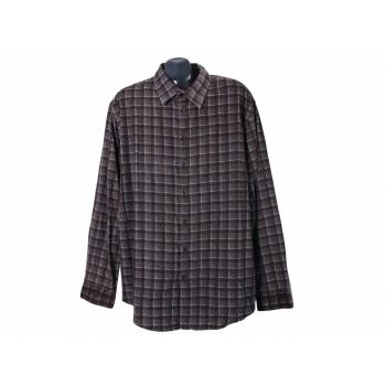 Рубашка теплая в клетку мужская BIAGGINI, XXL
