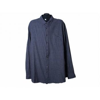Рубашка теплая в клетку мужская DRESSMANN SLIM FIT, 3XL