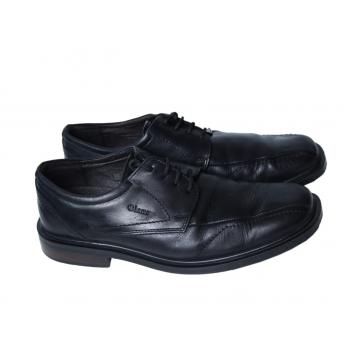 Туфли мужские кожаные черные BAMA AIR LIGHT 42 размер