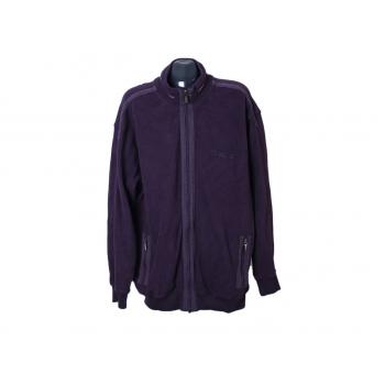 Кофта на молнии фиолетовая мужская ENGBERS, XXL