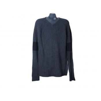 Пуловер шерстяной мужской серый ESPRIT, XL