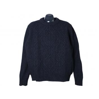 Джемпер шерстяной мужской синий ESPRIT, XL