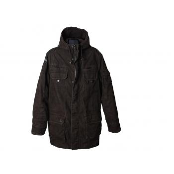 Парка вельветовая с капюшоном мужская SPRINGFIELD, XL