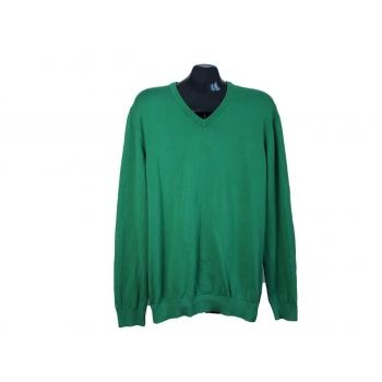 Пуловер хлопковый зеленый мужской S.OLIVER, L