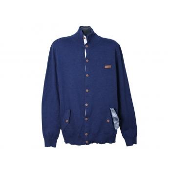 Кофта мужская синяя на пуговицах ESPRIT, L