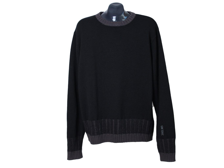 Джемпер мужской черный GIN TONIC, XL