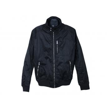Куртка демисезонная мужская черная H & M, L