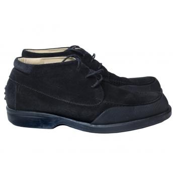 Ботинки замшевые мужские черные VAN BOMMEL 44 размер