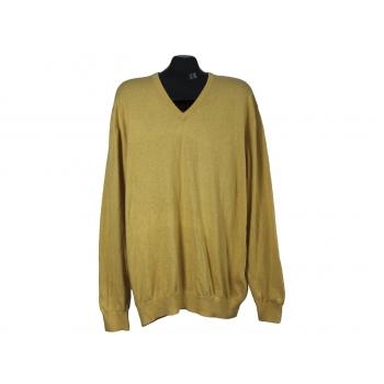 Пуловер мужской желтый PIERRE CARDIN, XL