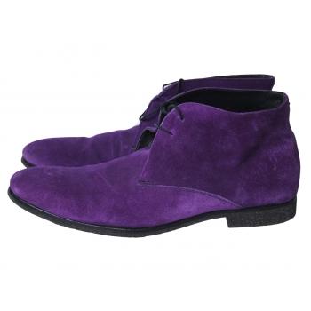 Ботинки замшевые фиолетовые мужские HESCHUNG 46 размер