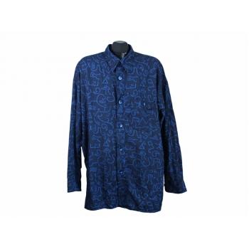 Рубашка мужская синяя SIGNUM, XL