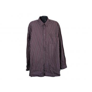 Рубашка мужская бордовая в полоску CAMEL ACTIVE, 5XL