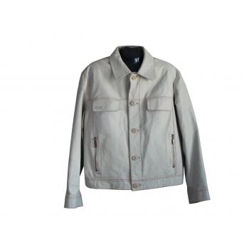 Куртка кожаная мужская серая MUSTANG, XL
