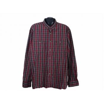 Рубашка мужская бордовая в клетку DEER ISLAND, 3XL