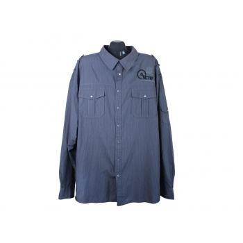 Рубашка мужская серая OKAY, 4XL