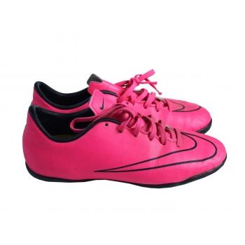 Кроссовки футзалки кожаные розовые NIKE MERCURIAL 35 размер