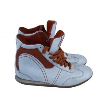 Кроссовки кожаные женские белые ESPRIT 37 размер