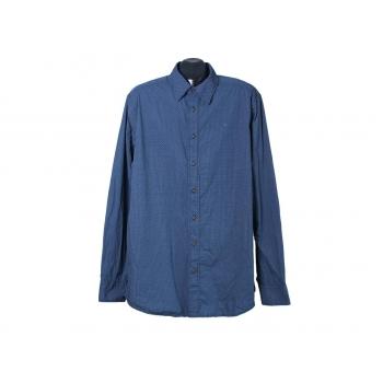 Рубашка мужская синяя BASEFIELD, XL