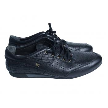 Туфли кожаные мужские черные VOYAGER 44 размер