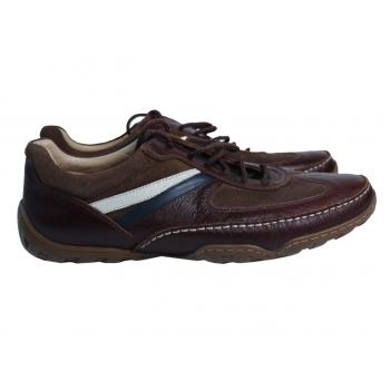 Туфли кожаные мужские коричневые FOUR AY 43 размер