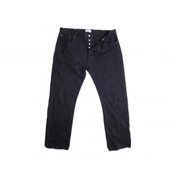 Джинсы мужские черные LEVIS 501 W 42 L 36