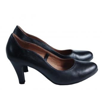 Туфли кожаные женские черные CAPRICE OnAIR 36 размер