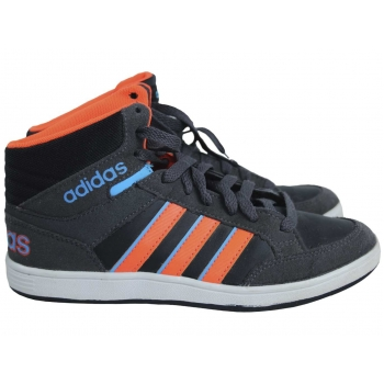 Кроссовки для девочки серые ADIDAS NEO 35 размер