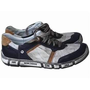 Мокасины мужские кожаные KASPER 42 размер