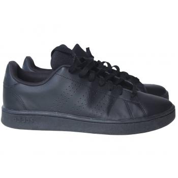 Кожаные черные кроссовки для девочки ADIDAS 35 размер