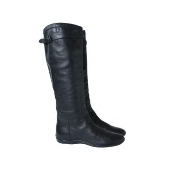 Женские кожаные сапоги HOGAN 36 размер