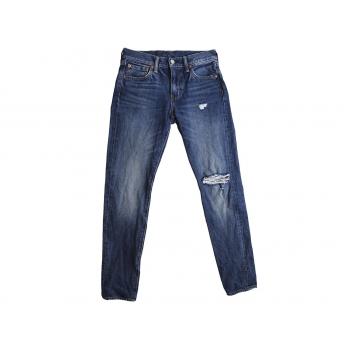 Женские рваные джинсы LEVIS 512, S