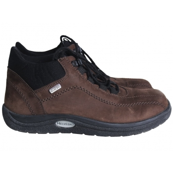 Ботинки кожаные демисезонные женские HELVESKO 37 размер
