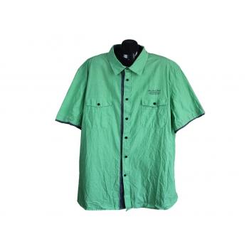 Рубашка мужская зеленая BPC COLLECTION, 4XL