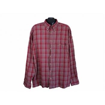 Рубашка красная в клетку мужская CAMEL ACTIVE, 3XL