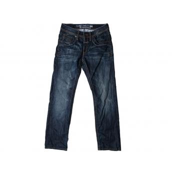 Мужские синие джинсы CAMP DAVID RON REGULAR FIT W 34 L 34