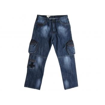 Джинсы мужские с боковыми карманами M & H W 38 L 34