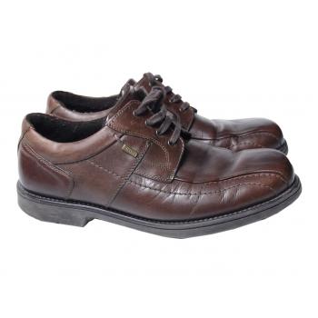 Туфли кожаные мужские на меху CLAUDIO CONTI 44 размер