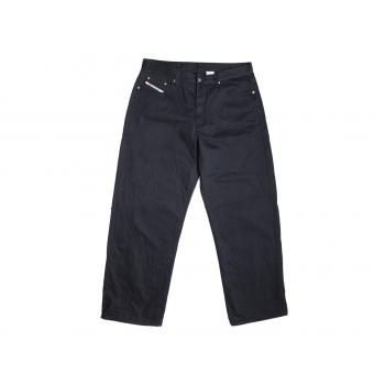 Джинсы мужские широкие черные JINGO JEANS W 36 L 34