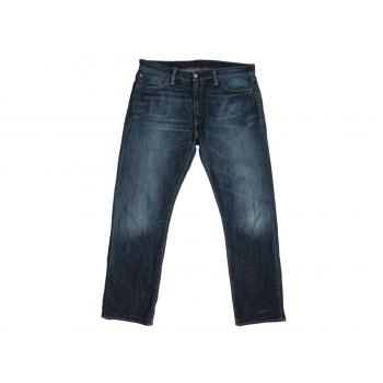 Джинсы прямые мужские синие LEVIS 504 W 36 L 32