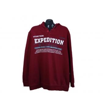 Толстовка мужская красная REWARD EXPEDITION, 3XL